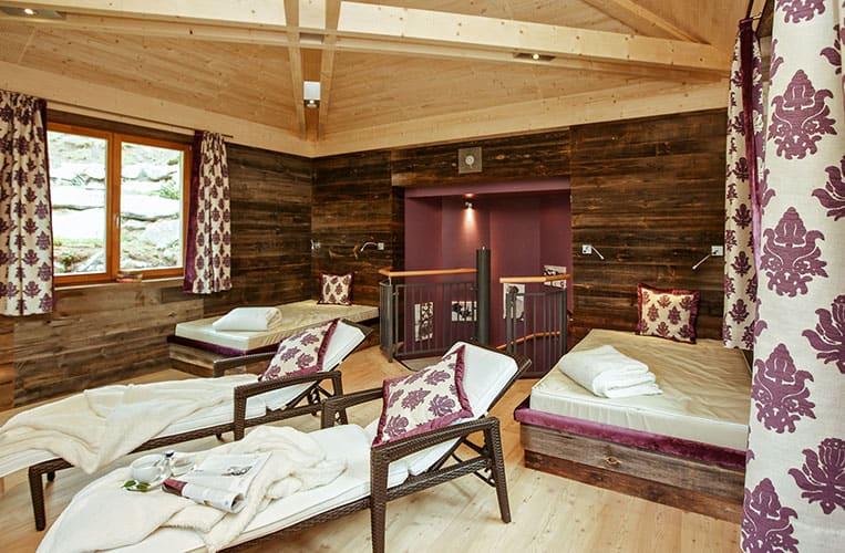 Ruheraum im Mountain Resort Feuerberg