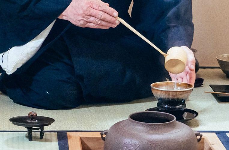 Die Teezeremonie im Mountain Resort Feuerberg
