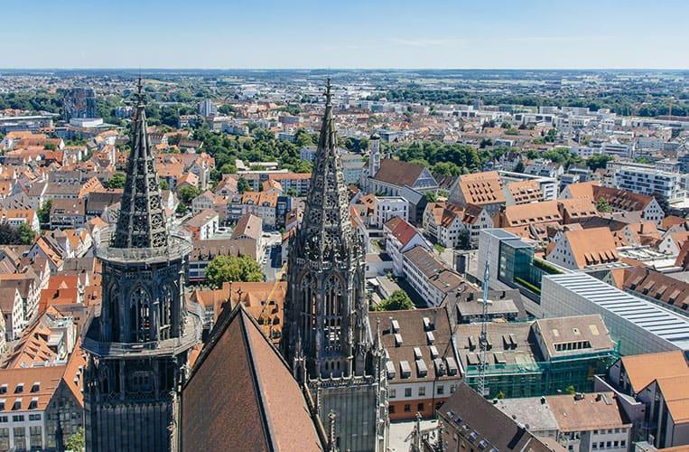 Ausblick vom Ulmer Münster