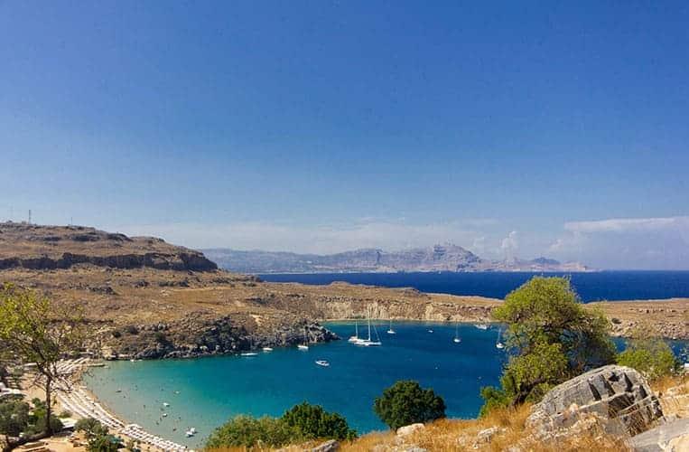 Naturhafen Lindos – Rhodos