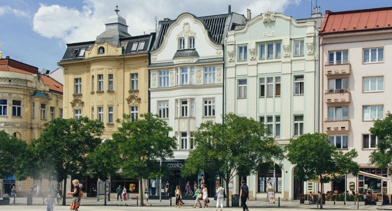 Ostrava, die drittgrößte Stadt der Tschechischen Republik