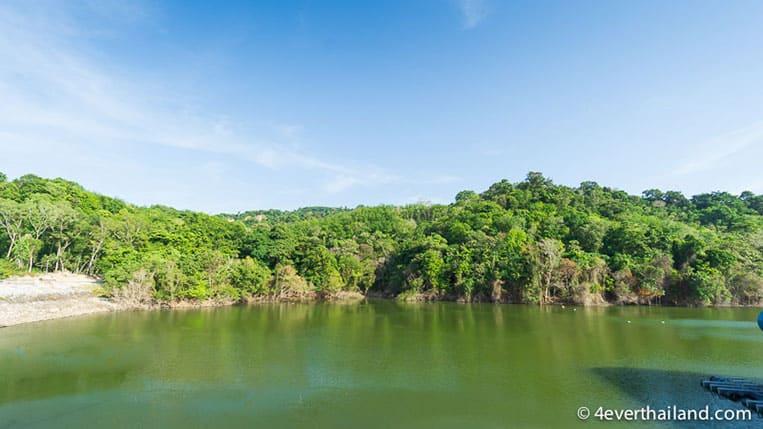 Sehenswürdigkeiten auf Phuket: Der Bangwad Stausee