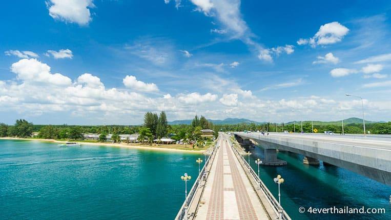 Sehenswürdigkeiten auf Phuket: Die Sarasin Brücke