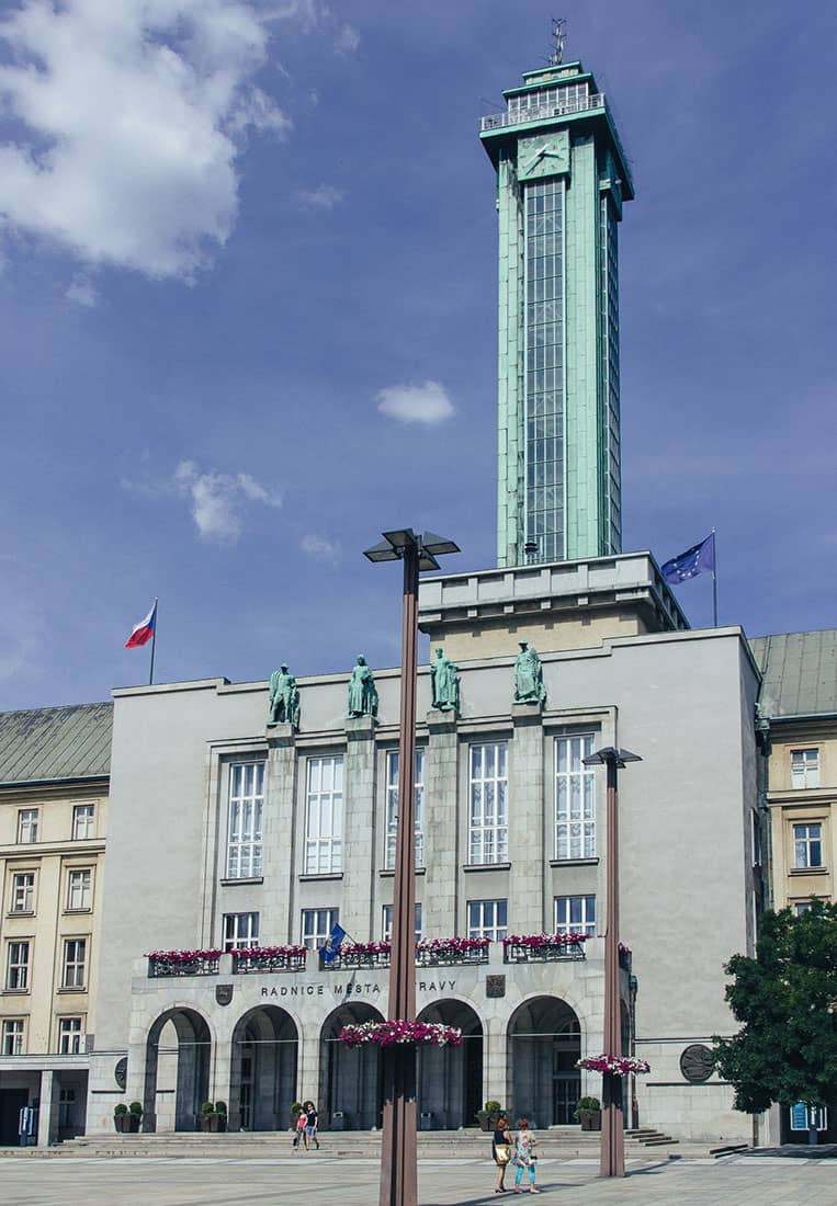 Das alte Rathaus Ostrava