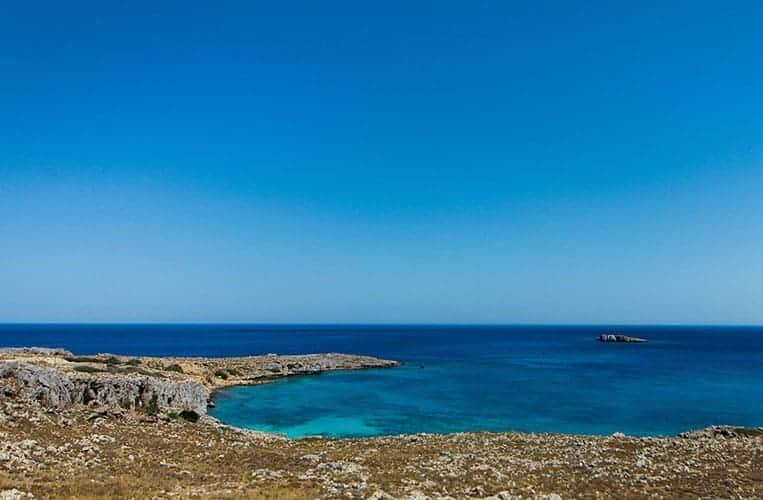 schöne Landschaft auf Rhodos