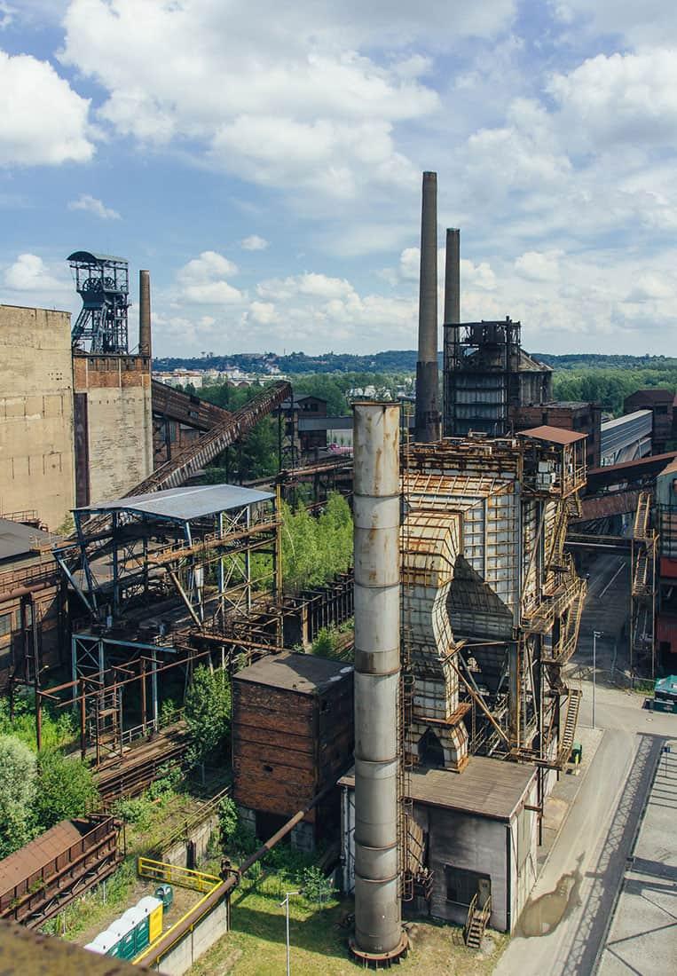 Industriedenkmal Witkowitzer Eisenwerke Ostrava