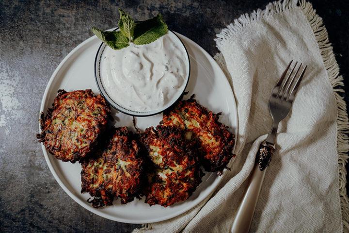 Mücver – Rezept für türkische Zucchinipuffer