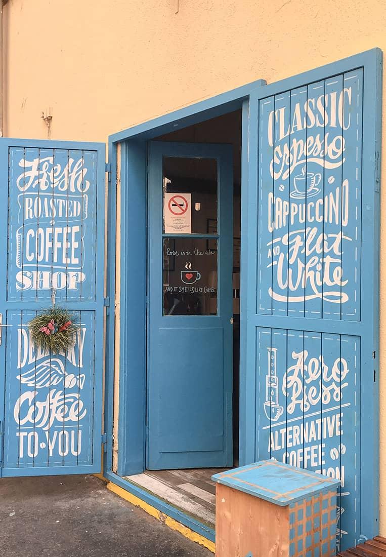Blue Bird Cafe Budapest