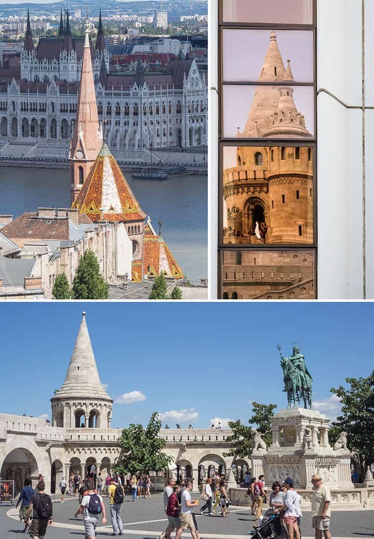 Das Burgviertel in Budapest