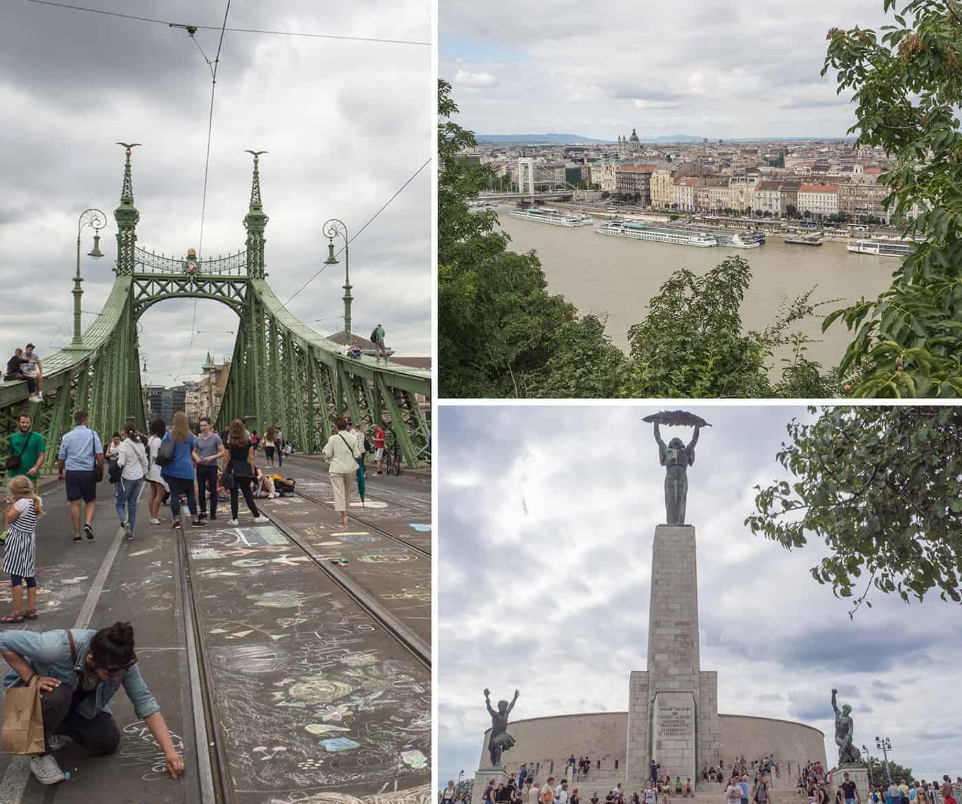 Der Gellértberg in Budapest