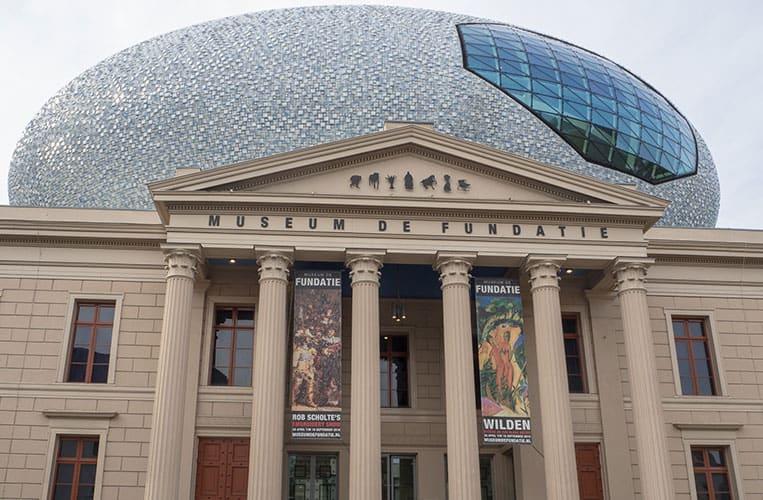 Das Museum de Fundatie, Zwolle, Overijssel, Holland