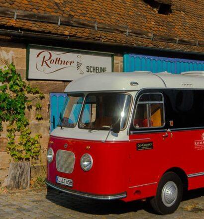 Romantik Roadtrip: Weine und Schmausen