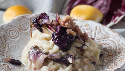 Risotto mit Salsicce und Radicchio