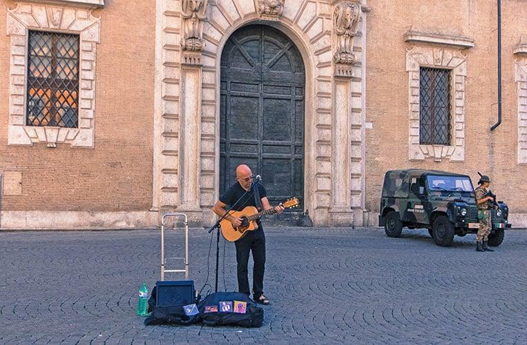 """Trastevere, das """"Herz Roms"""""""