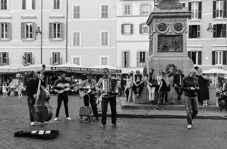 Trevi Brunnen, Rom