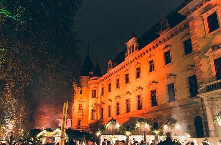 Der Romantische Weihnachtsmarkt auf Schloss Thurn und Taxis