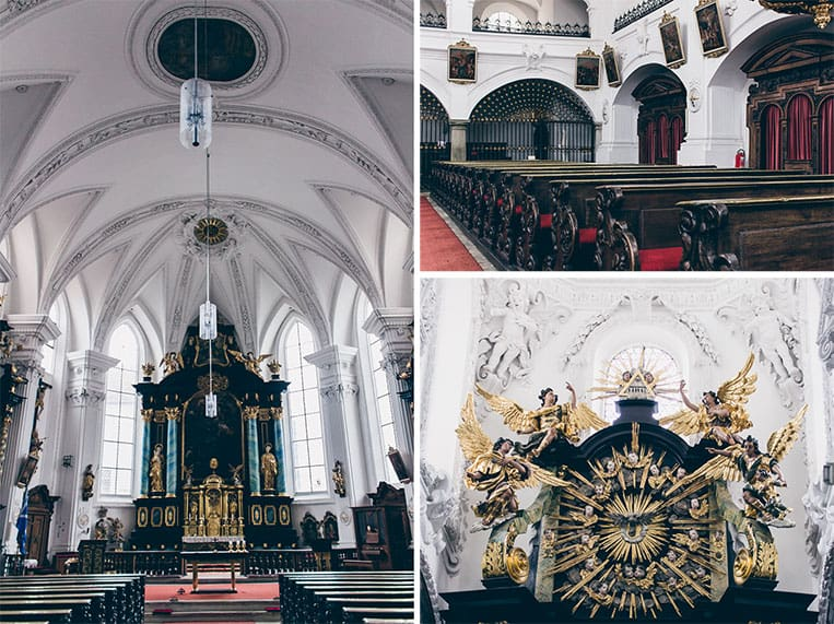 Die ehemalige Jesuitenkirche in Straubing