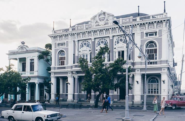 Paseo del Prado, Cienfuegos, Kuba