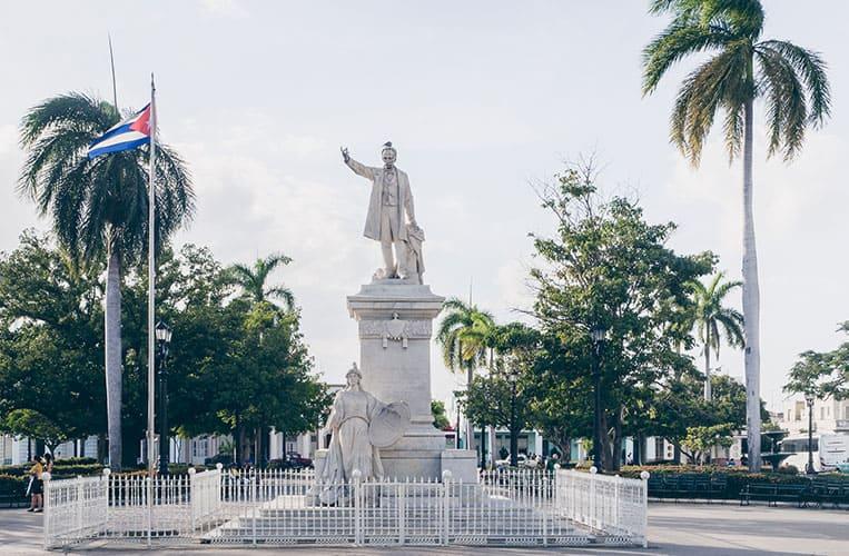 Parque Martí, Cienfuegos, Kuba