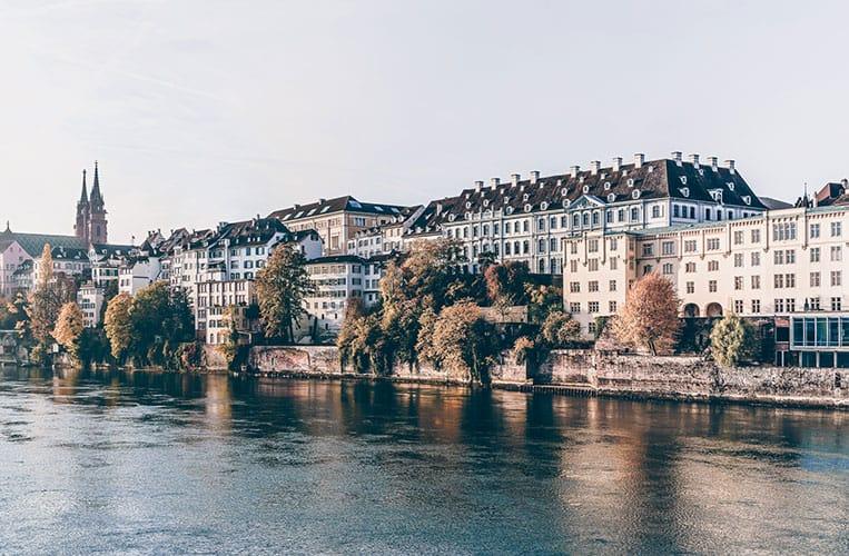 Panorama Basel mit Münster |Foto: Basel Tourismus