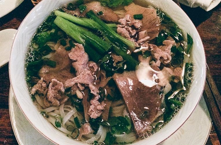 Pho Bo Tai nach einem Rezept aus Sai Gon