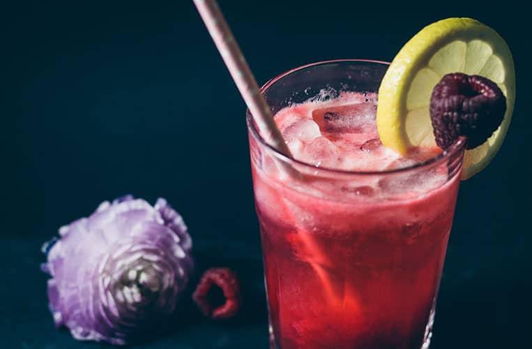 Smirnoff Raspberry Collins Cocktail