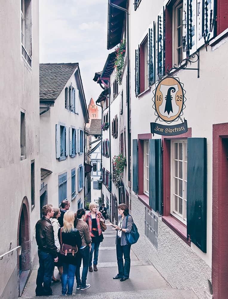 Stadtführung |Foto: Basel Tourismus