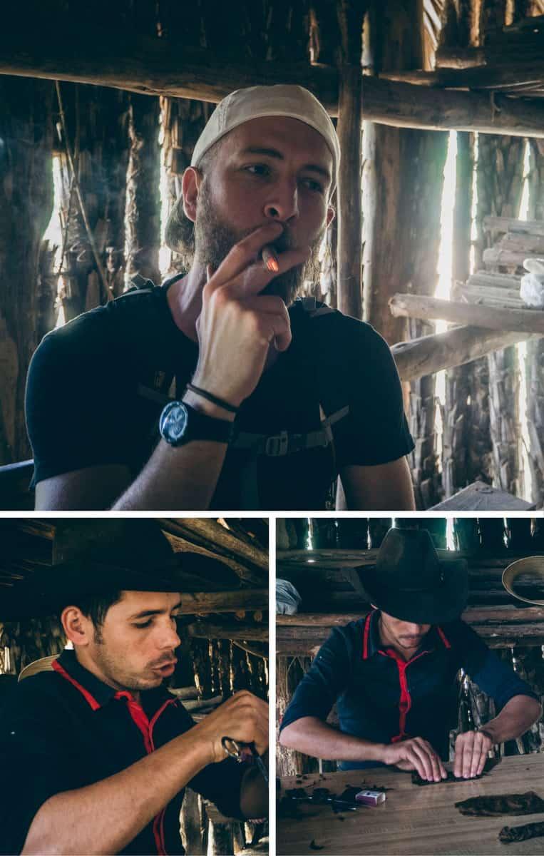 Auf der Tabakfarm im Vinales-Tal