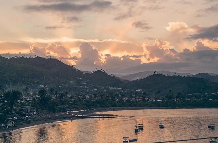 Ausblick von der Casa Bella Vista, Baracoa, Kuba