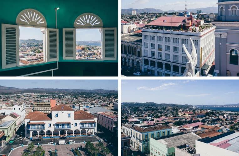 Ausblick von der Catedral de Nuestra Señora de la Asunción, Santiago de Cuba, Kuba