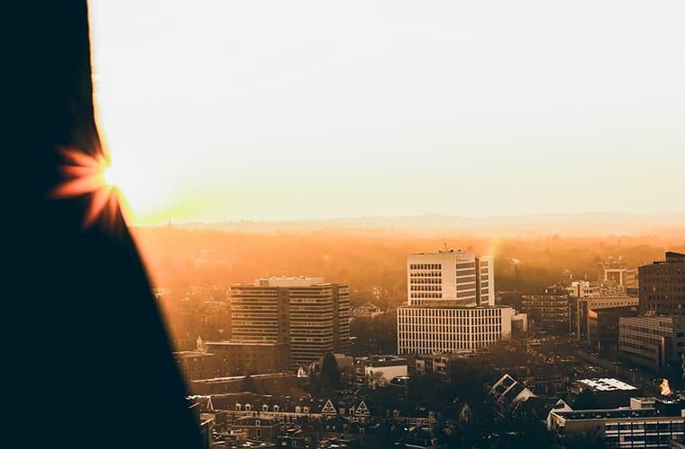 Aussicht vom Lieve Vrouwe Kerkhof, Amersfoort