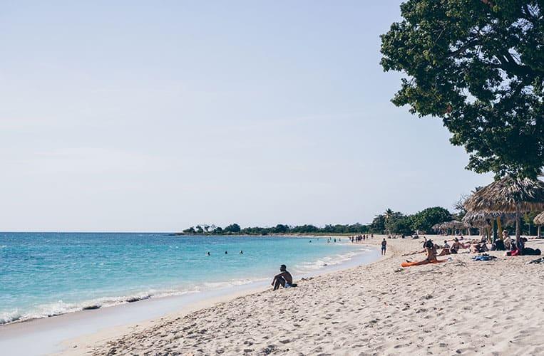 Die Playa Ancón, Trinidad, Kuba