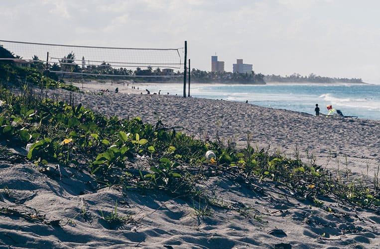 Paradiesischer Strand in Varadero, Kuba