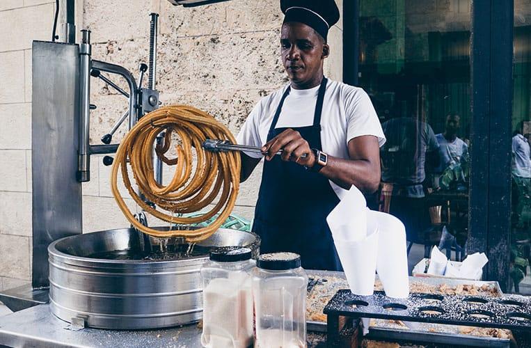 Essen auf Kuba: Churros