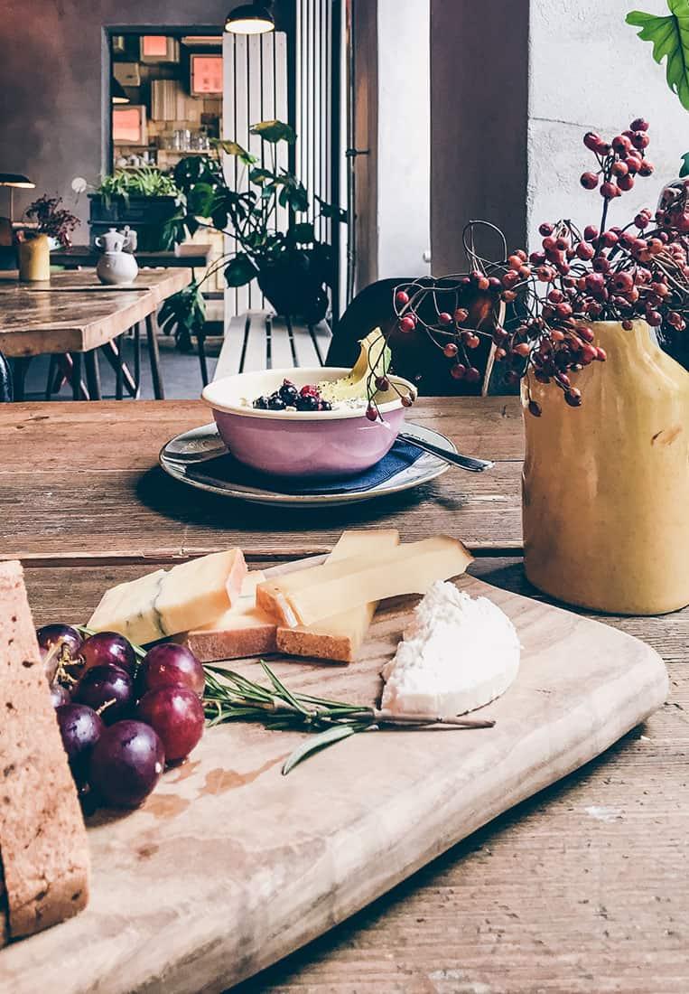 Frühstück im Café Linnen