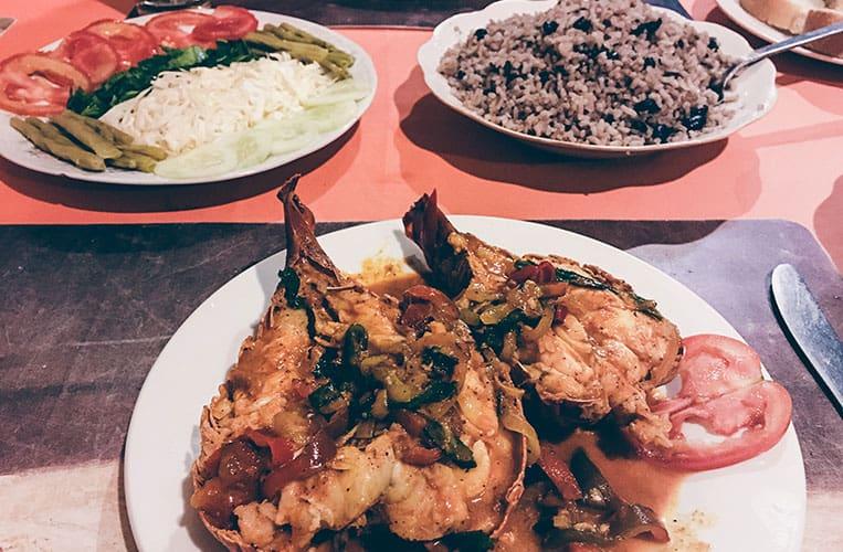 Essen auf Kuba: Lobster