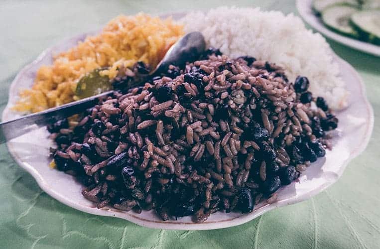 Essen auf Kuba: Morros y cristianos