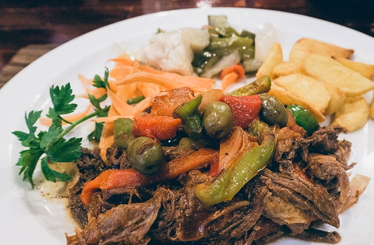 Essen auf Kuba: Ropa Vieja