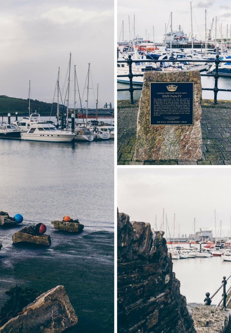 Das charmante Hafenstädtchen Falmouth in Cornwall