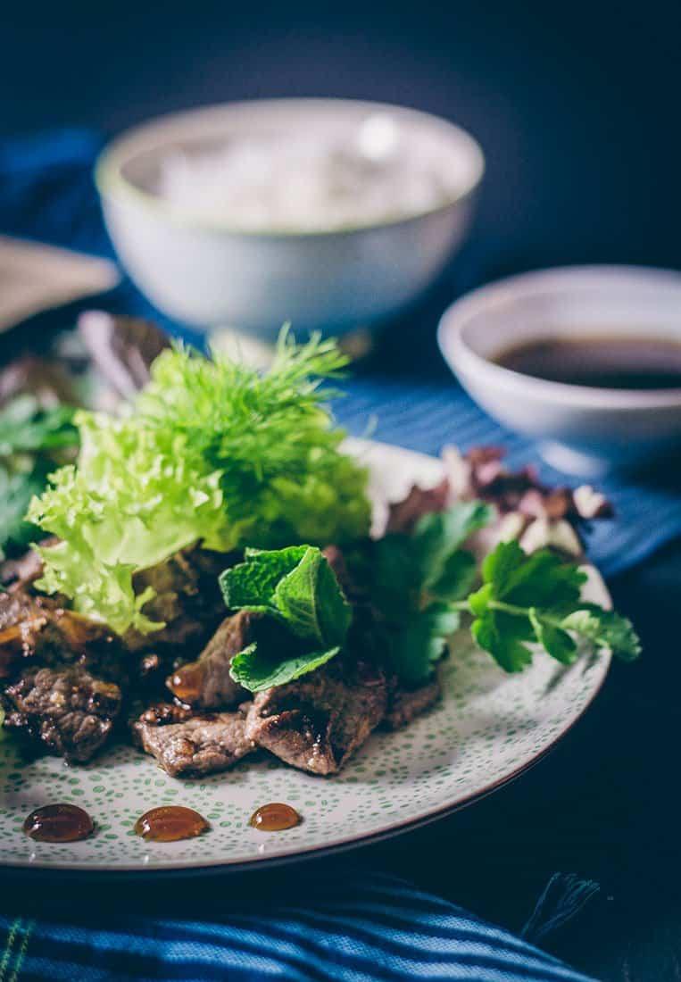 Beef Lok Lak – Rezept aus Kambodscha