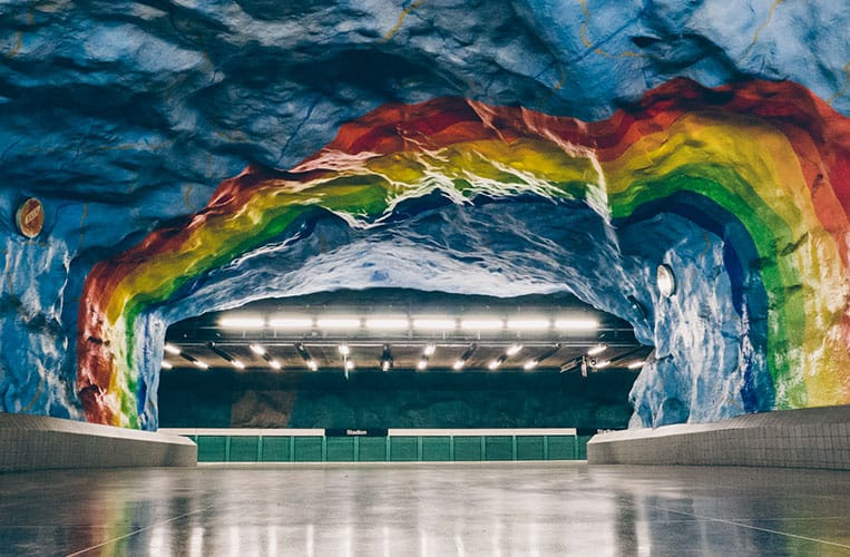 Stadion  – Stockholm Tunnelbana
