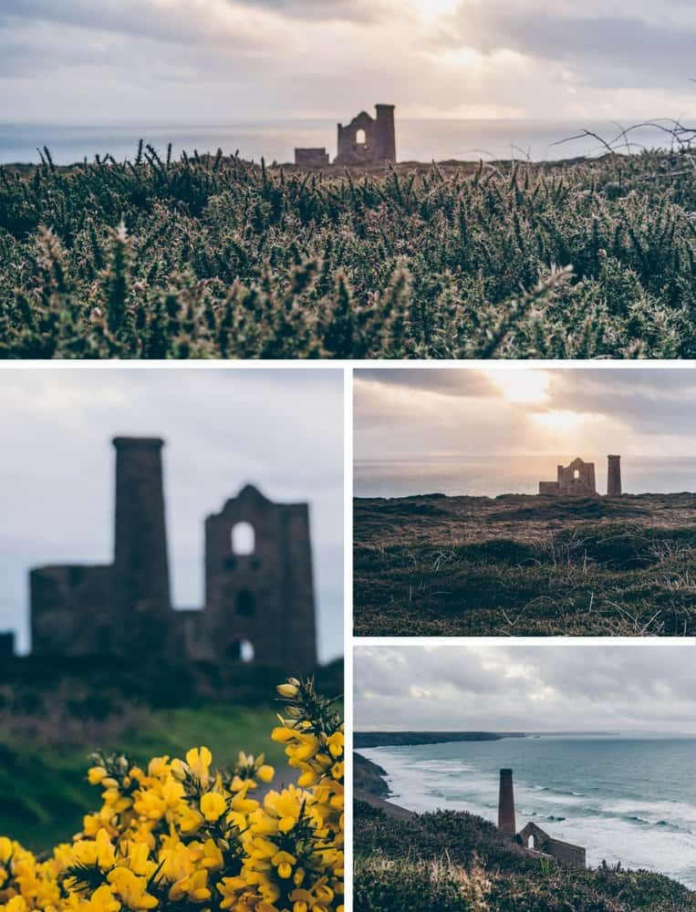 Wheal Coates an der St Agnes Heritage Coast, Cornwall