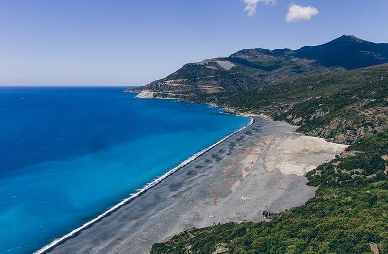 Strand von Nonza, Korsika