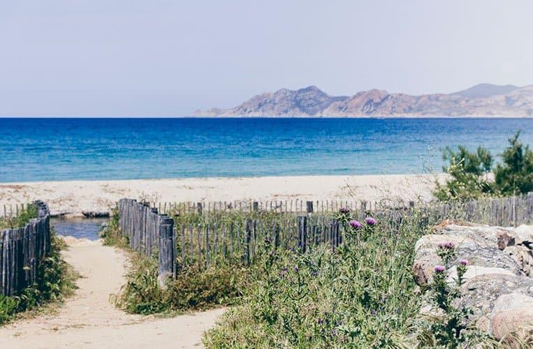 Plage de Lozari, Korsika