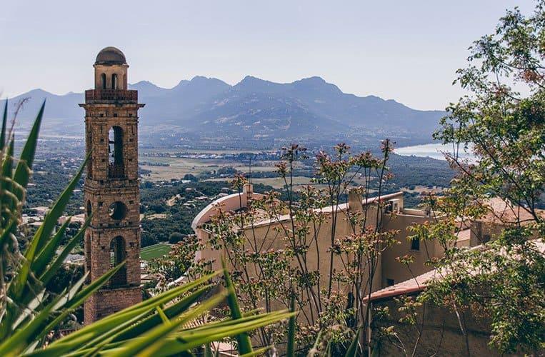 Das Künstlerdorf Pigna – Korsika