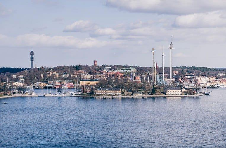Blick auf Djurgården