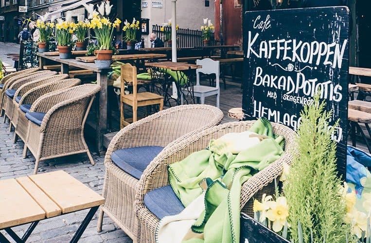 Chokladkoppen, Stortorget, Stockholm