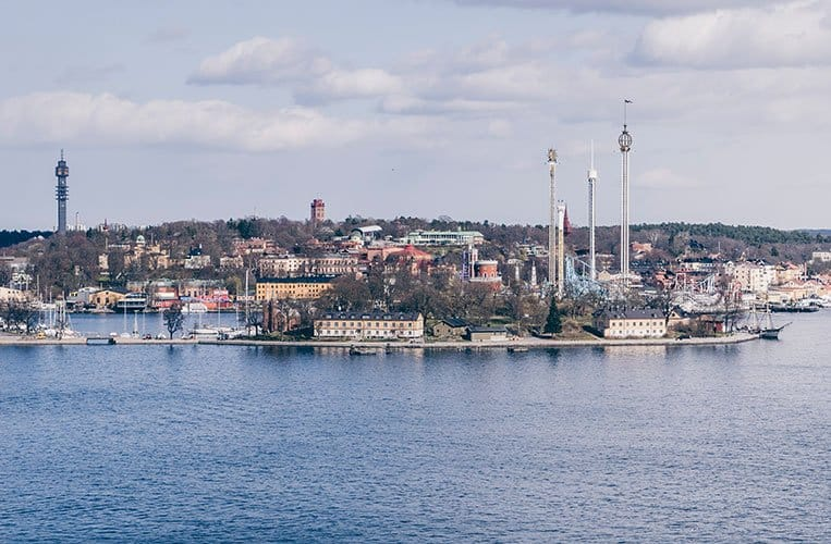 Stockholms Museumsinsel Djurgarden