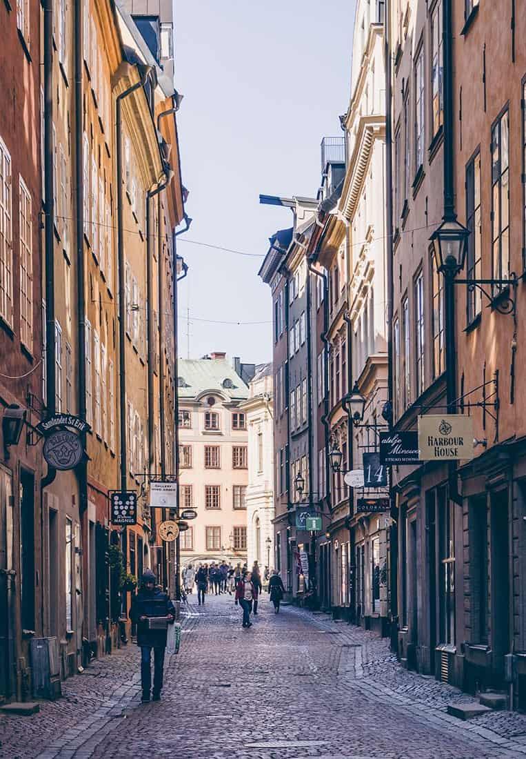 Gamla Stan – die Altstadt von Stockholm