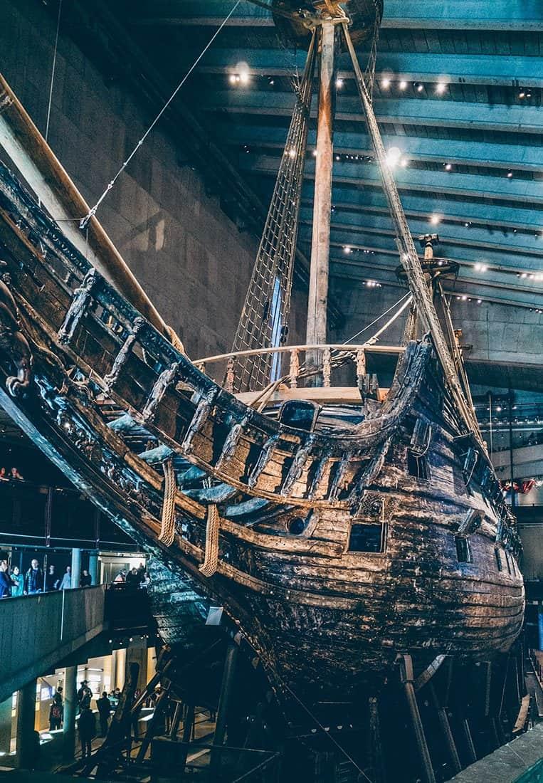 Das Vasa Museum in Stockholm